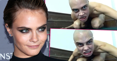 Cara Delevingne Shaves Head, Poses Naked In Bizarre Tribute To Gollum From 'LOTR'