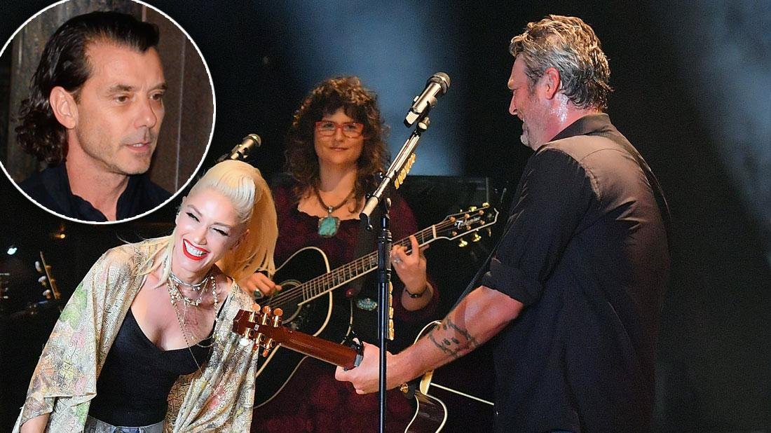 Gwen & Blake Going Strong Amid Annulment Drama With Her Ex
