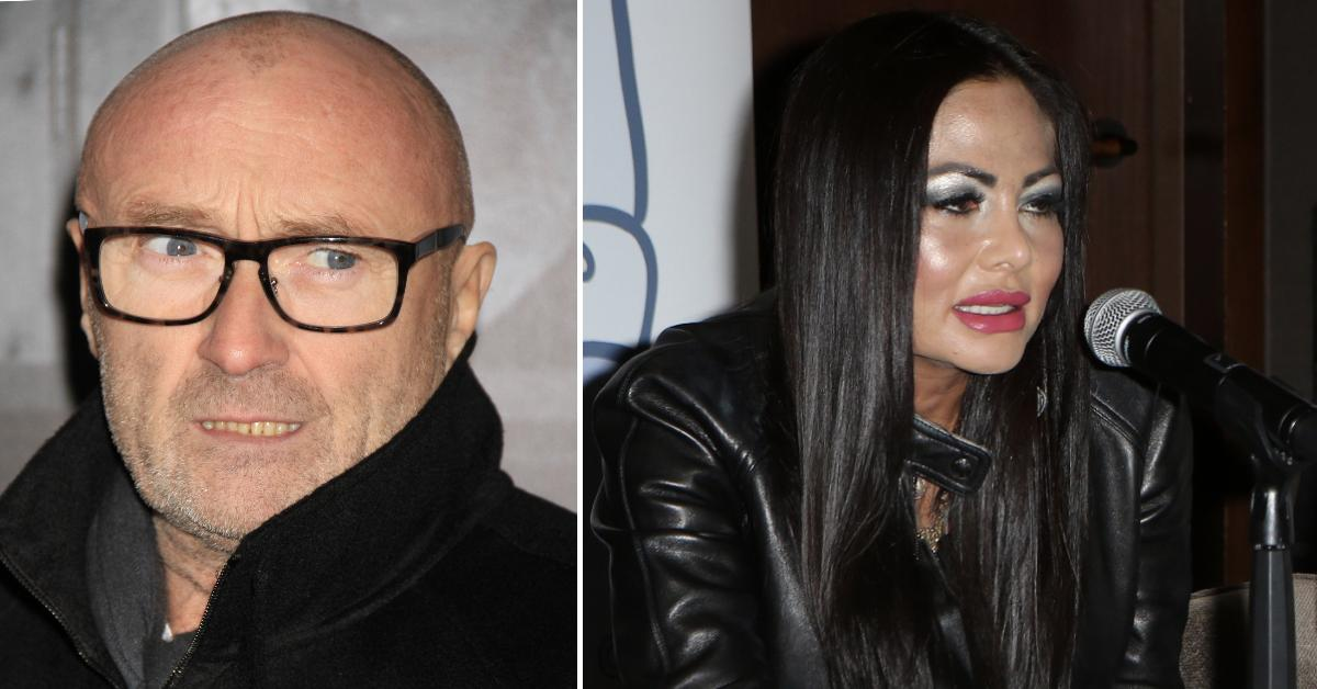 phil collins wife shower year pp