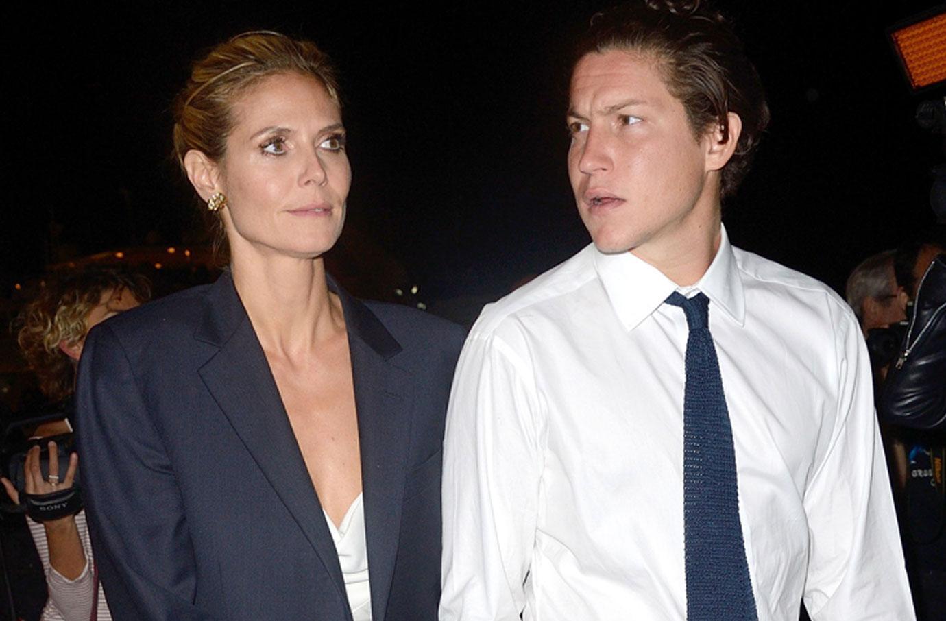 Heidi Klum Brave Face Cheating Boyfriend Vito Schnabel Kissing Another Woman