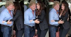 //lisa vanderpump kisses husband wide