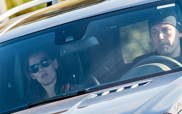 Ben Affleck Jennifer Garner Car
