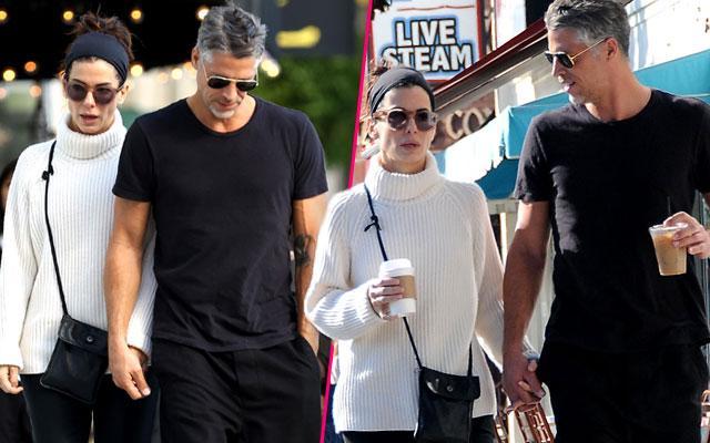 Sandra Bullock Boyfriend Bryan Randall Coffee Date