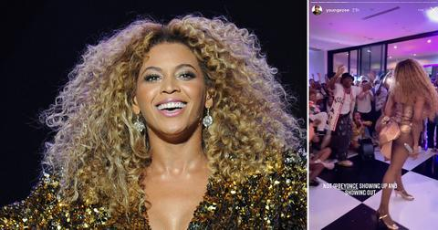 beyonce video rare appearance todrick hall birthday party rf