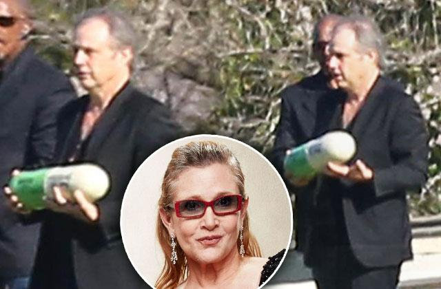 //carrie fisher cremated pill pp
