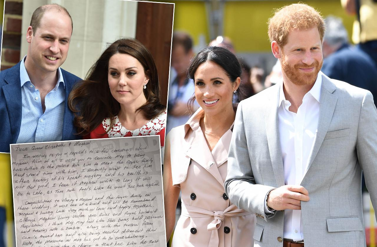 Meghan Markle Brother Tells Queen She And Harry Should Be King And Queen