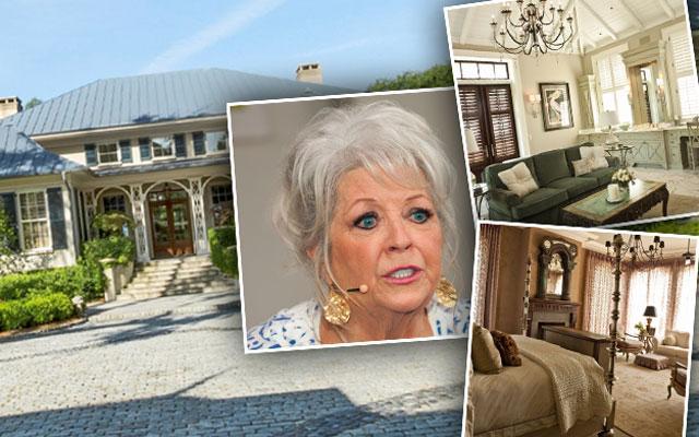 Paula Deen Financial Trouble Claims Loan Georgia Mansion