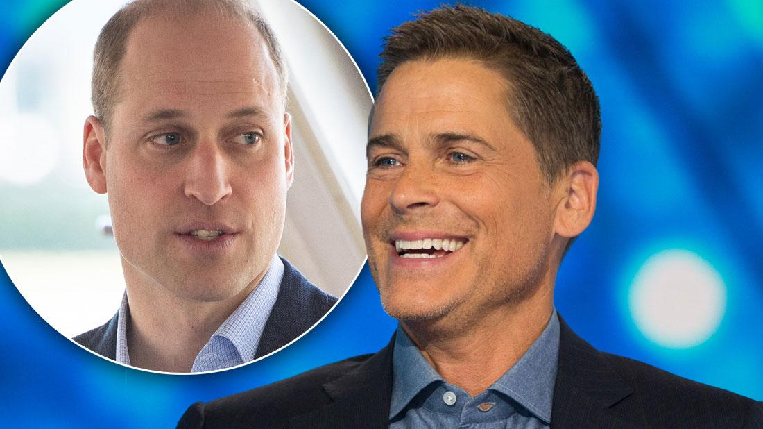Rob Lowe Criticizes 'Bald' Prince William Over Hair Loss