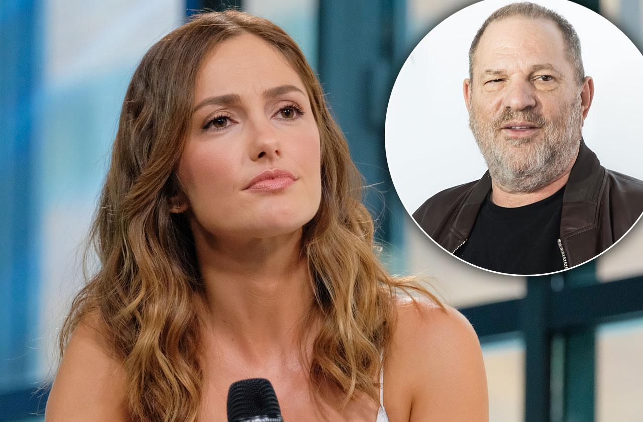minka kelly harvey weinstein sexual harassment claims