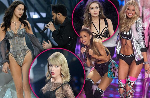 victorias secret fashion show 2016 scandals bella hadid gigi hadid taylor swift
