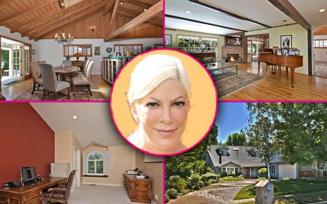Tori Spelling Moves House Encino Mansion
