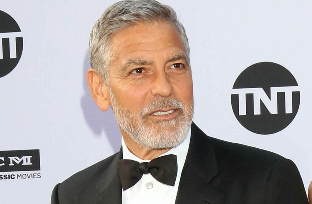 George Clooney Injured Hospital Car Accident