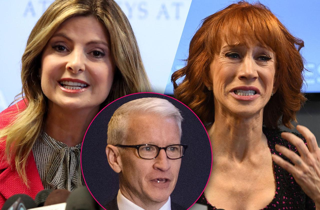 //Kathy Griffin Anderson Cooper Spineless Heiress pp
