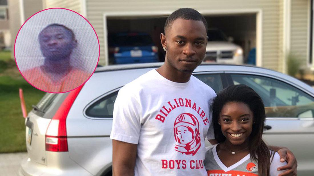 Tough Love: Millionaire Simone Biles Won't Bail Out Accused Murderer Brother