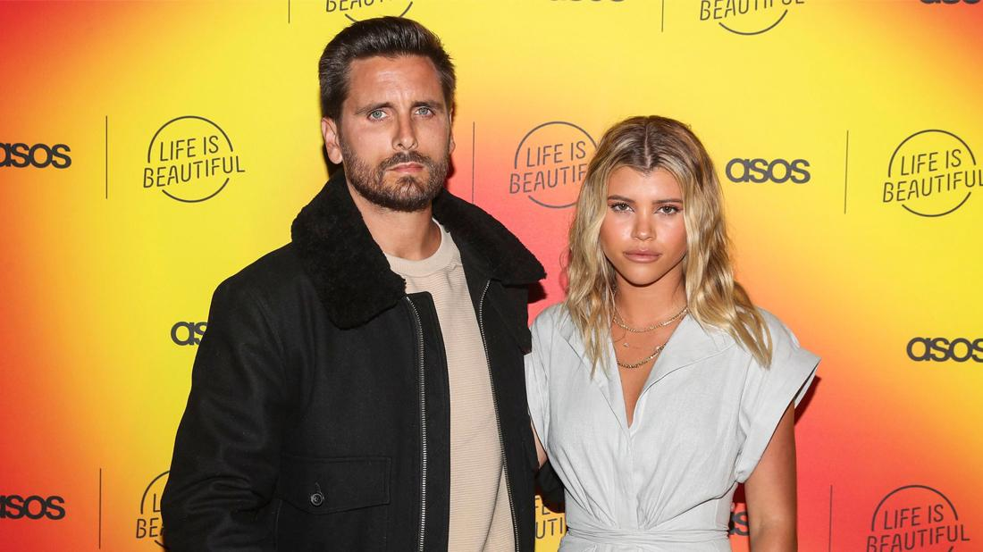 Scott Disick and Sofia Richie attend ASOS Life is Beautiful party.