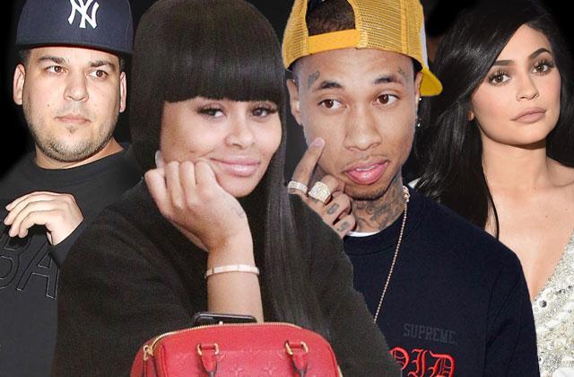 Blac Chyna and Tyga Relationship Revenge Rob Kardashian and Kylie Jenner