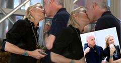 Kelly Rutherford Kissing Boyfriend Tony Brand