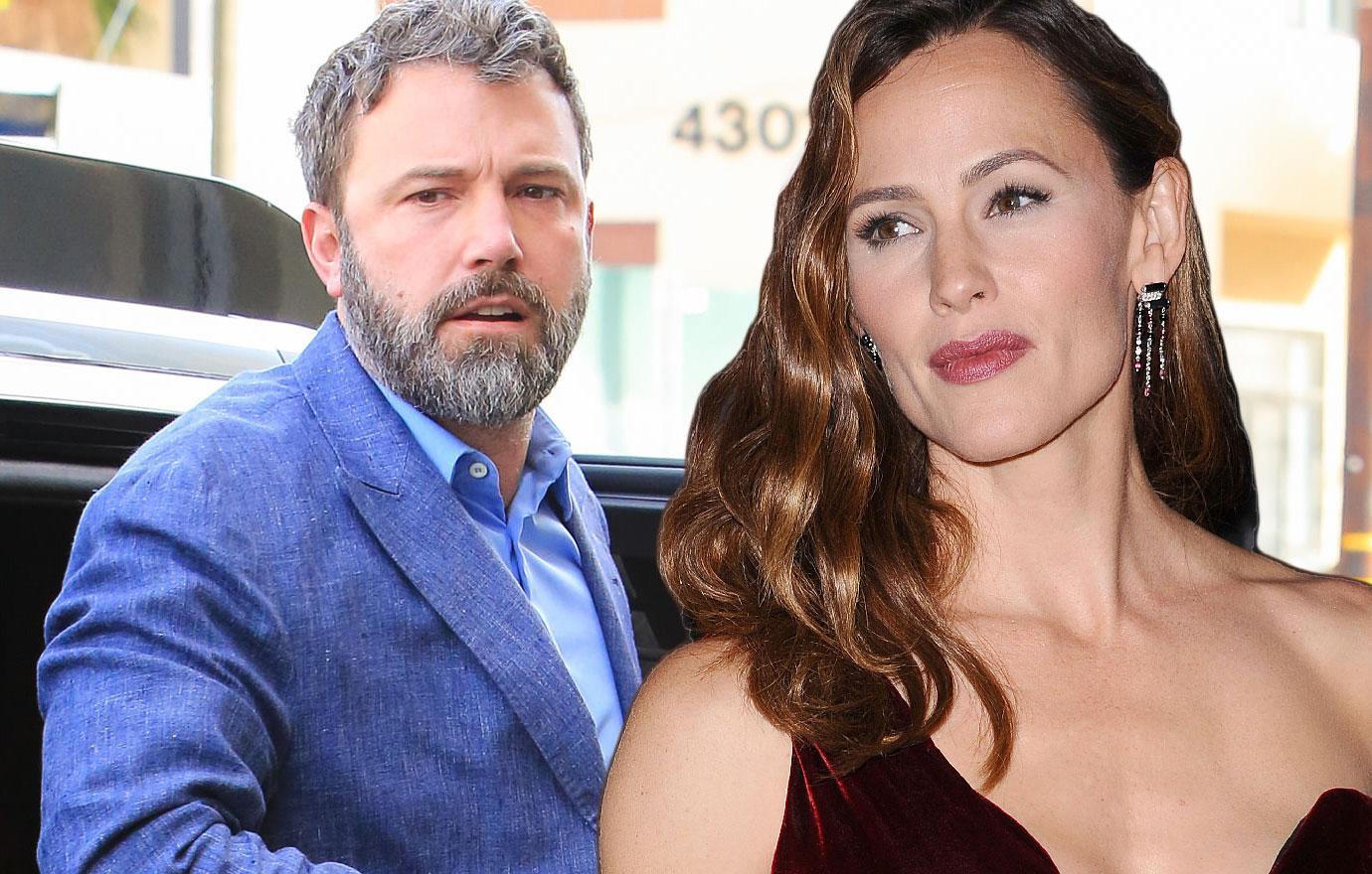 Ben Affleck Custody Monitored In Jennifer Garner Divorce