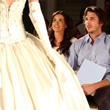 //ben flajnik courtney robertson bridal show