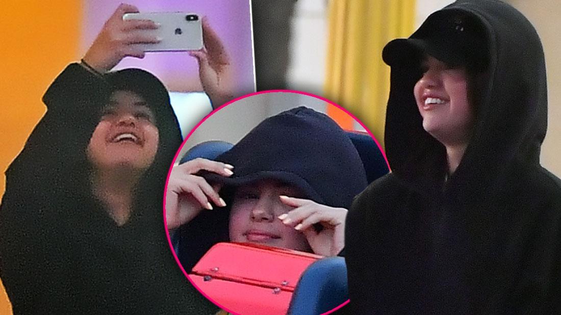 Selena Gomez Skips Met Cuddles With Mystery Man At Disneyland