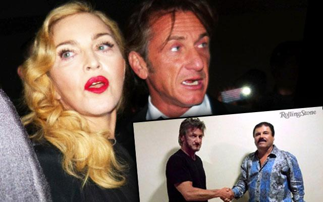 Madonna Sean Penn Dating Death Threats El Chapo