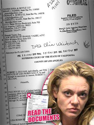 //lisa robin kelly family suing rehab center death tall