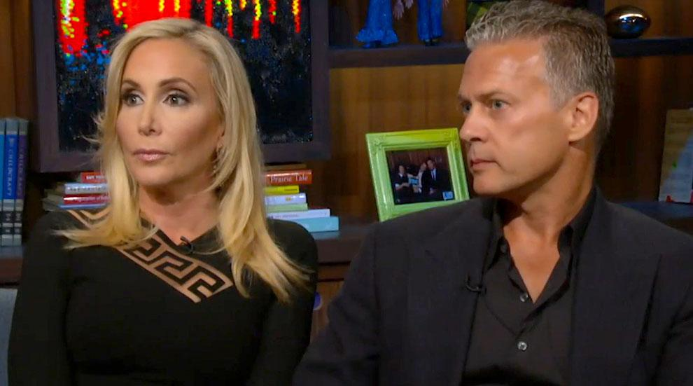 WWHL Shannon Beador David Affair Heather Dubrow Girl Code