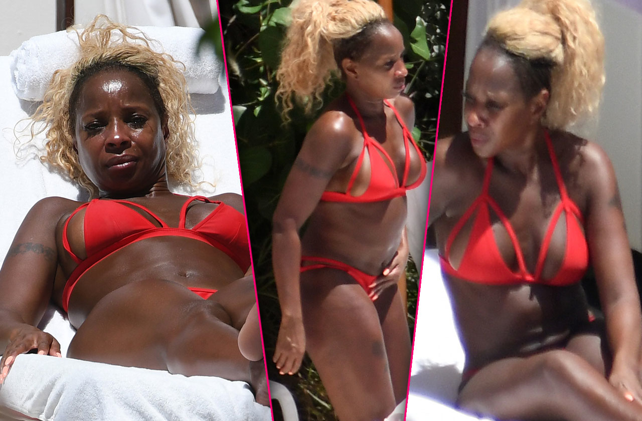//Mary j blige buff bikini body pp