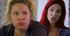 Farrah Abraham Kailyn Lowry Boxing Fight