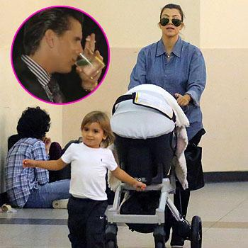 //scott disick kourtney kardashian motherhood