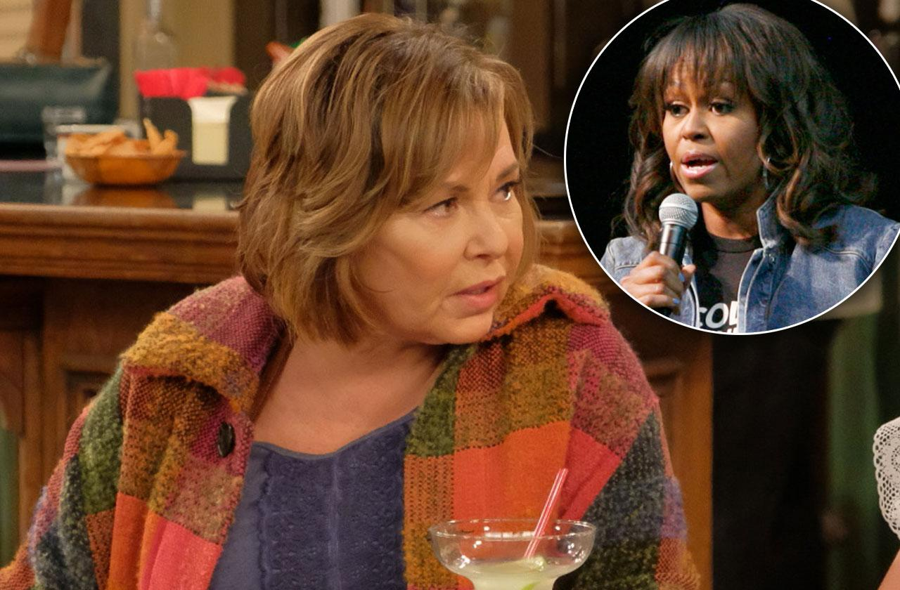 Roseanne Barr Blames Michelle Obama Show Cancellation