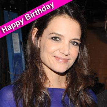 //katie holmes birthday getty