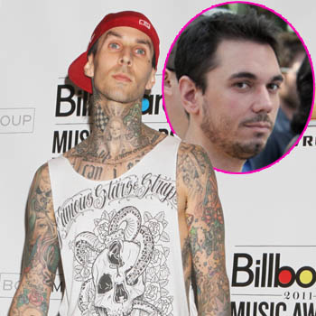 //travis barker traumatized crash wenn