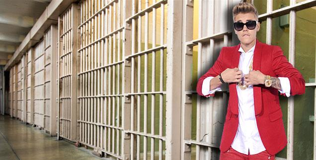 //justin bieber special treatment in jail wide
