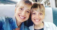 Allison Mack and actress Nicki Clyne