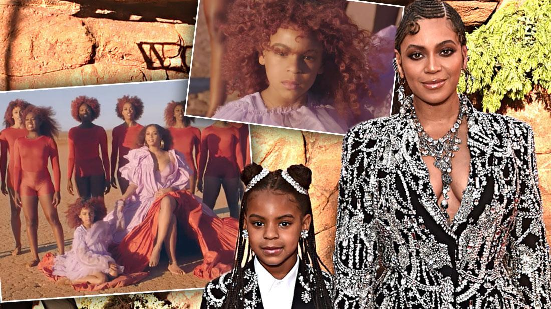 Beyoncé's Daughter Blue Ivy Makes Cameo In 'Spirit' Music Video