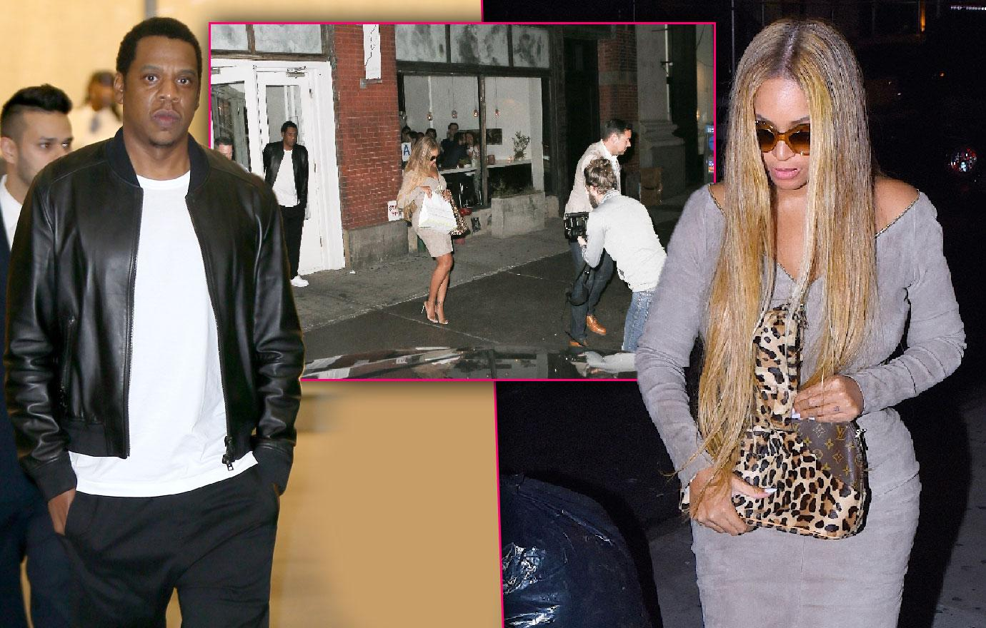 Beyonce And Jay Z Bodyguard Clash With Paparazzi