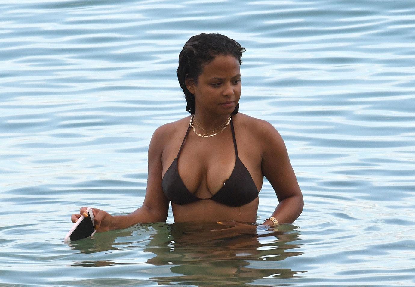 Christina milian nipple