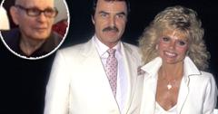 //Burt Reynolds' Ex Wife Loni Anderson Snubs Late Actor's Only Brother At Second Funeral pp