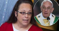 Kim Davis Pope Francis Meeting