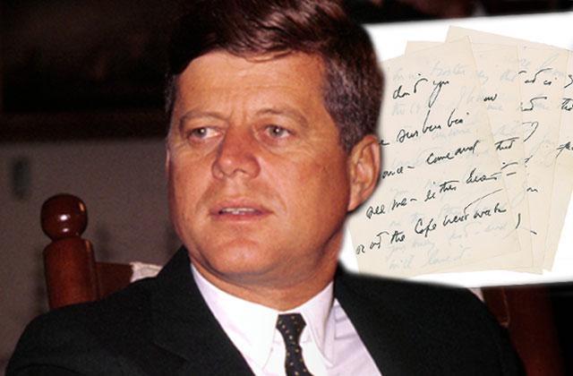 John F Kennedy Mistress Mary Pinchot Letters Auction Murder Mystery