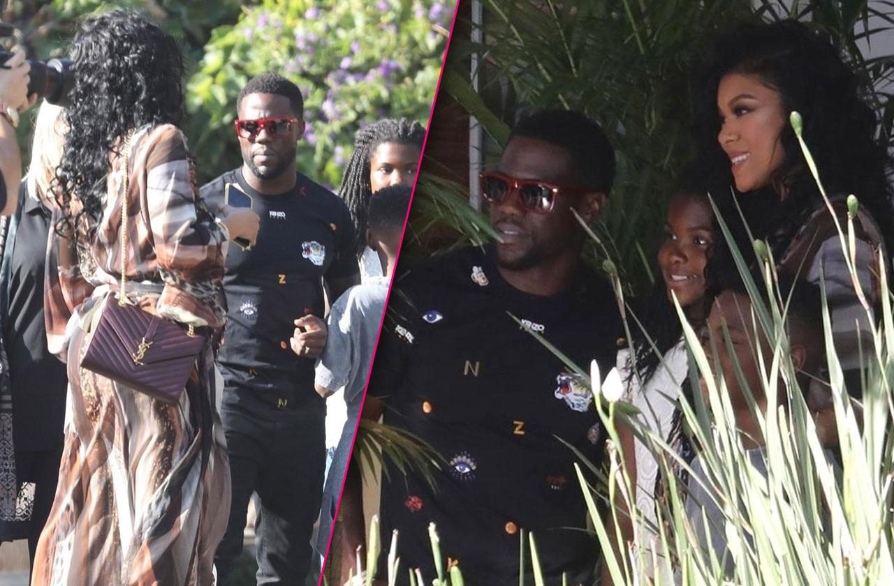 Kevin Hart Eniko Parrish Baby Shower Cheating