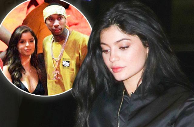 //Kylie Jenner Tyga Split Heartbroken