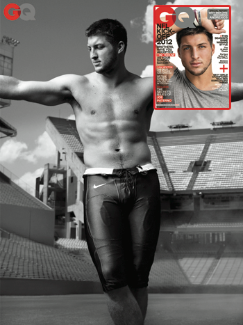 //tim tebow hot gq
