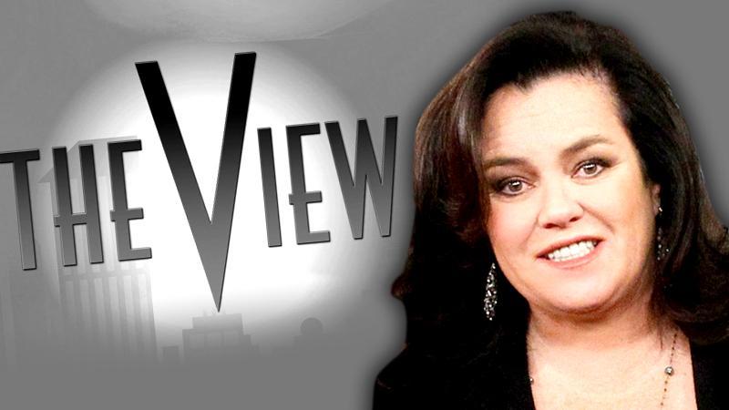 //rosie odonnell heavy talks return the view abc radar confirms pp