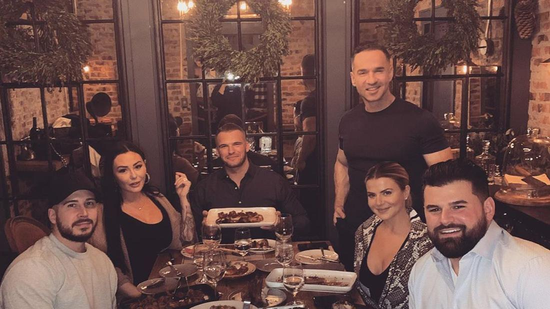 JWoww Celebrates Boyfriend Zack's Birthday Jersey Shore Co Stars