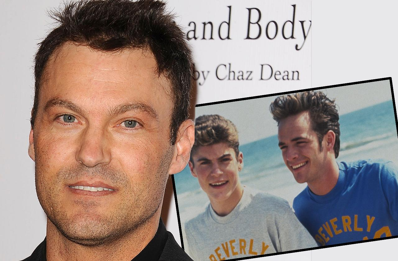 Brian Austin Green Texted Luke Perry After His Death