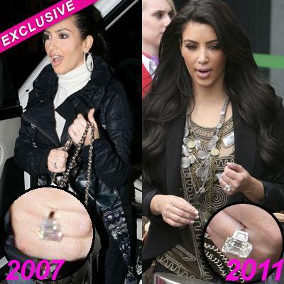 //kim kardashian engagement ring flynet pcn