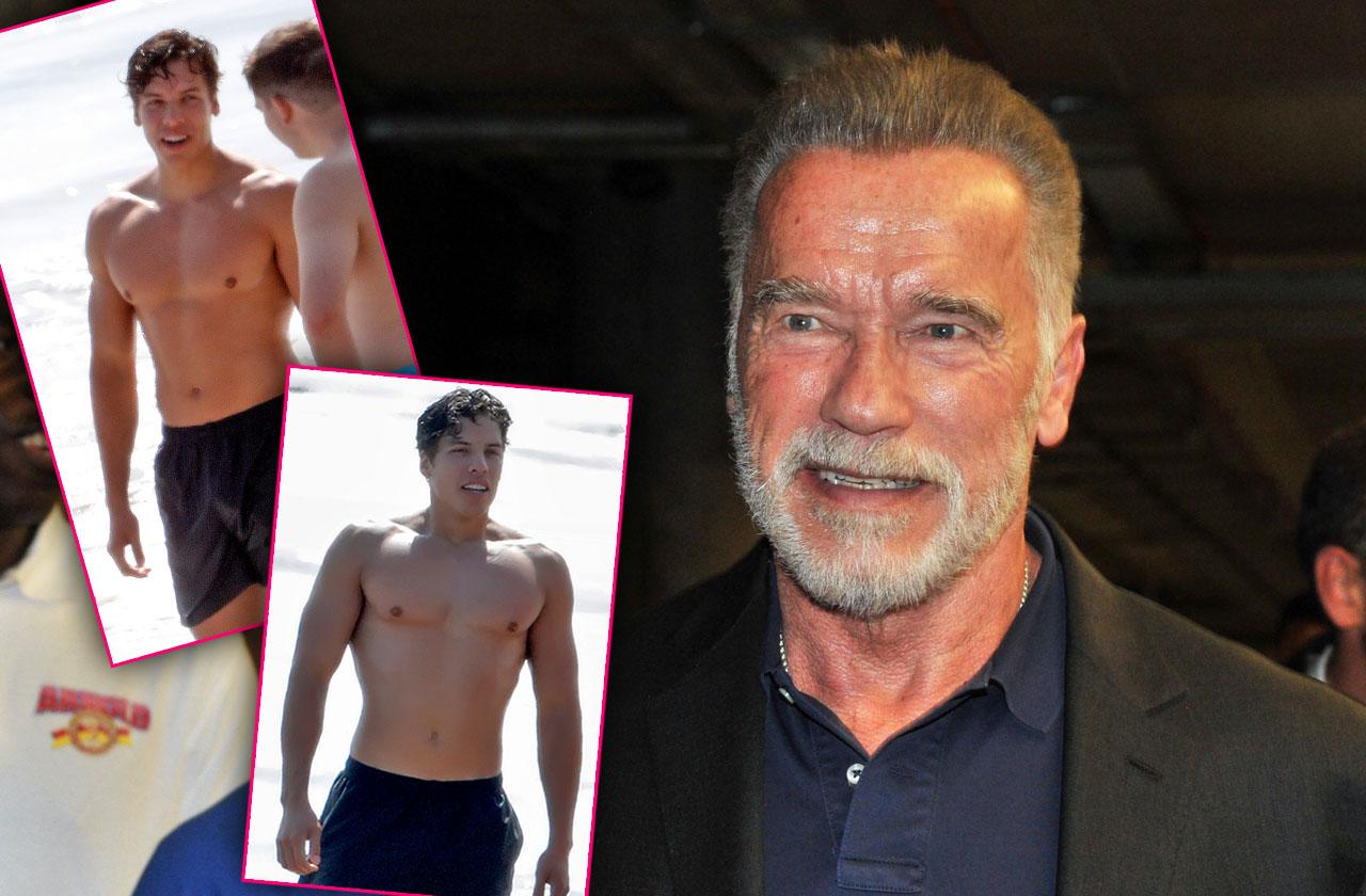 Arnold Schwarzenegger's Son Joseph Baena Ready To Follow Famous Father's Film Footsteps