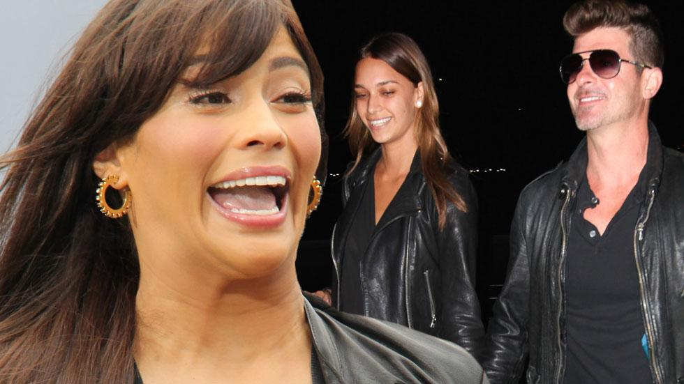 Paula Patton Robin Thicke Hates Girlfriend​
